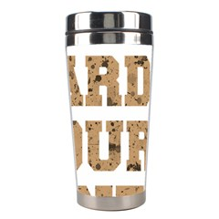 Work Hard Your Bones Stainless Steel Travel Tumblers by Melcu