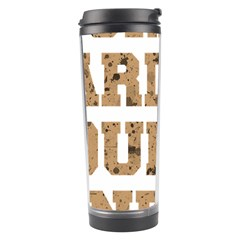 Work Hard Your Bones Travel Tumbler by Melcu