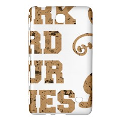 Work Hard Your Bones Samsung Galaxy Tab 4 (8 ) Hardshell Case  by Melcu