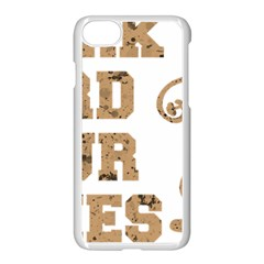 Work Hard Your Bones Apple Iphone 7 Seamless Case (white) by Melcu