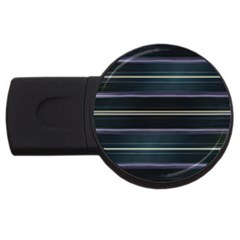 Modern Abtract Linear Design Usb Flash Drive Round (2 Gb) by dflcprints