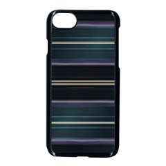 Modern Abtract Linear Design Apple Iphone 8 Seamless Case (black) by dflcprints
