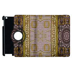 Gothic In Modern Stars And Pearls Apple Ipad 3/4 Flip 360 Case by pepitasart