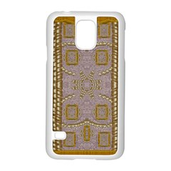 Gothic In Modern Stars And Pearls Samsung Galaxy S5 Case (white) by pepitasart