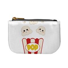 Cute Kawaii Popcorn Mini Coin Purses by Valentinaart