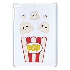 Cute Kawaii Popcorn Apple Ipad Mini Hardshell Case by Valentinaart