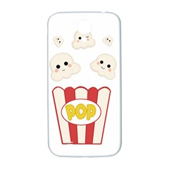 Cute Kawaii Popcorn Samsung Galaxy S4 I9500/i9505  Hardshell Back Case by Valentinaart