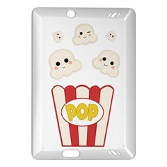 Cute Kawaii Popcorn Amazon Kindle Fire Hd (2013) Hardshell Case by Valentinaart