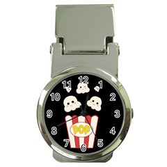 Cute Kawaii Popcorn Money Clip Watches by Valentinaart