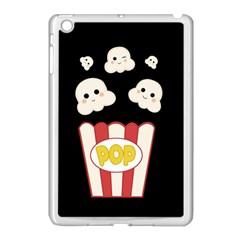 Cute Kawaii Popcorn Apple Ipad Mini Case (white) by Valentinaart