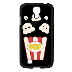 Cute Kawaii Popcorn Samsung Galaxy S4 I9500/ I9505 Case (black) by Valentinaart