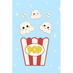 Cute Kawaii Popcorn 5 5  X 8 5  Notebooks by Valentinaart