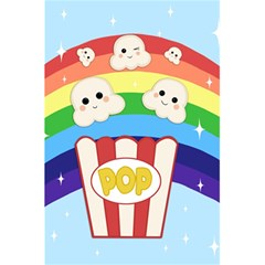 Cute Kawaii Popcorn 5 5  X 8 5  Notebooks by Valentinaart