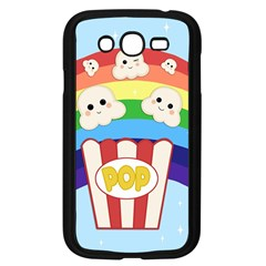 Cute Kawaii Popcorn Samsung Galaxy Grand Duos I9082 Case (black) by Valentinaart
