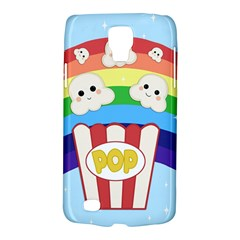 Cute Kawaii Popcorn Galaxy S4 Active by Valentinaart