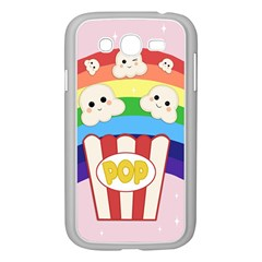 Cute Kawaii Popcorn Samsung Galaxy Grand Duos I9082 Case (white) by Valentinaart