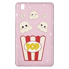 Cute Kawaii Popcorn Samsung Galaxy Tab Pro 8 4 Hardshell Case by Valentinaart