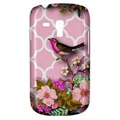 Shabby Chic, Floral,pink,birds,cute,whimsical Galaxy S3 Mini by 8fugoso