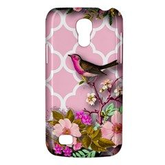 Shabby Chic, Floral,pink,birds,cute,whimsical Galaxy S4 Mini by 8fugoso
