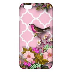 Shabby Chic, Floral,pink,birds,cute,whimsical Iphone 6 Plus/6s Plus Tpu Case by 8fugoso
