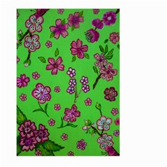 Visions Of Pink Large Garden Flag (two Sides) by dawnsiegler
