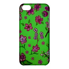 Visions Of Pink Apple Iphone 5c Hardshell Case by dawnsiegler