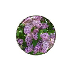 Lilacs 2 Hat Clip Ball Marker (10 Pack) by dawnsiegler