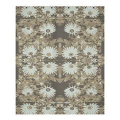 Vintage Daisy Floral Pattern Shower Curtain 60  X 72  (medium)  by dflcprints