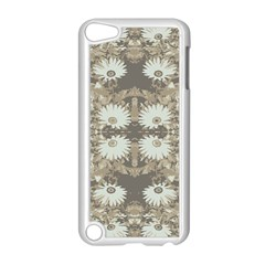 Vintage Daisy Floral Pattern Apple Ipod Touch 5 Case (white) by dflcprints