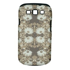 Vintage Daisy Floral Pattern Samsung Galaxy S Iii Classic Hardshell Case (pc+silicone) by dflcprints