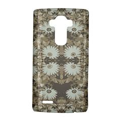 Vintage Daisy Floral Pattern Lg G4 Hardshell Case by dflcprints