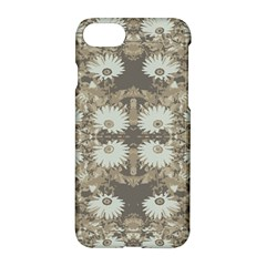 Vintage Daisy Floral Pattern Apple Iphone 7 Hardshell Case by dflcprints