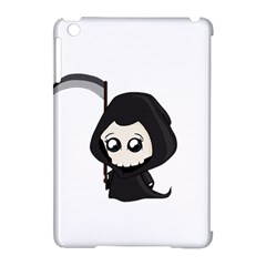 Cute Grim Reaper Apple Ipad Mini Hardshell Case (compatible With Smart Cover) by Valentinaart