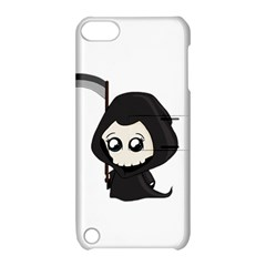 Cute Grim Reaper Apple Ipod Touch 5 Hardshell Case With Stand by Valentinaart