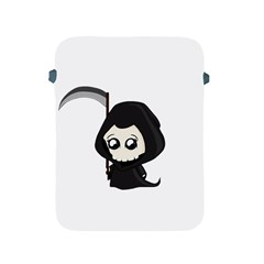 Cute Grim Reaper Apple Ipad 2/3/4 Protective Soft Cases by Valentinaart