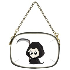 Cute Grim Reaper Chain Purses (one Side)  by Valentinaart