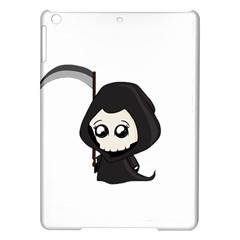 Cute Grim Reaper Ipad Air Hardshell Cases by Valentinaart