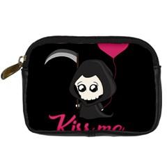 Cute Grim Reaper Digital Camera Cases by Valentinaart