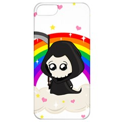Cute Grim Reaper Apple Iphone 5 Classic Hardshell Case by Valentinaart