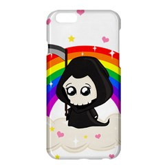 Cute Grim Reaper Apple Iphone 6 Plus/6s Plus Hardshell Case by Valentinaart