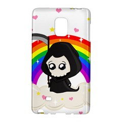 Cute Grim Reaper Galaxy Note Edge by Valentinaart