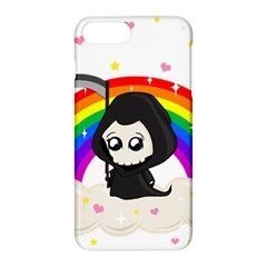 Cute Grim Reaper Apple Iphone 7 Plus Hardshell Case by Valentinaart