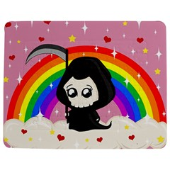 Cute Grim Reaper Jigsaw Puzzle Photo Stand (rectangular) by Valentinaart