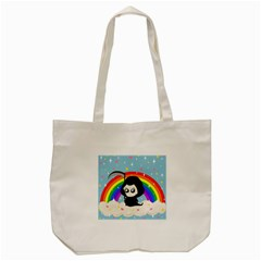 Cute Grim Reaper Tote Bag (cream) by Valentinaart