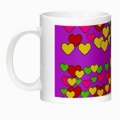 I Love This Lovely Hearty One Night Luminous Mugs by pepitasart