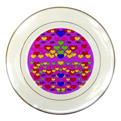 I Love This Lovely Hearty One Porcelain Plates by pepitasart