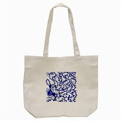 Dna Square  Stairway Tote Bag (cream)