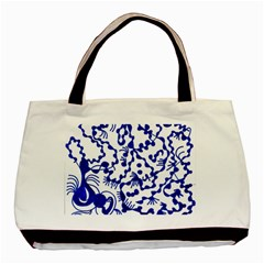 Dna Square  Stairway Basic Tote Bag (two Sides)