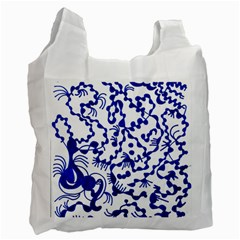 Dna Square  Stairway Recycle Bag (two Side)