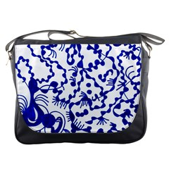 Dna Square  Stairway Messenger Bags
